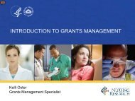 INTRODUCTION TO GRANTS MANAGEMENT