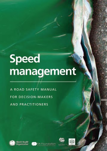 Speed management - World Health Organization
