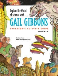 Explore the World of Science with Gail Gibbons (6.6 MB color PDF)