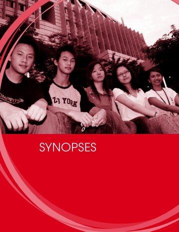 SYNOPSES - Singapore Polytechnic