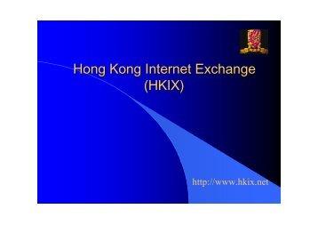 Hong Kong Internet Exchange (HKIX)
