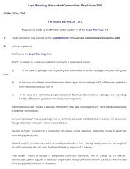 Legal Metrology (Pre-packed Commodities) Regulations 2006