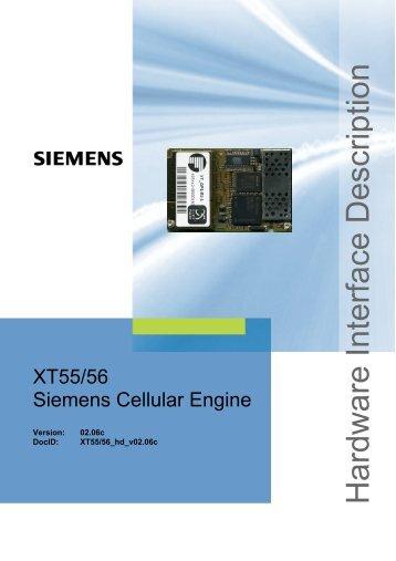 Hardware Interface Description - Wireless Data Modules