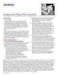 Enrollment/Change Form - Instant Benefits Network
