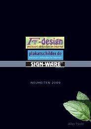 Kedersysteme - Neuheiten - fws-design