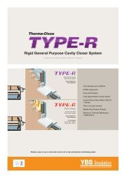 Therma-Close TYPE-R - YBS Insulation