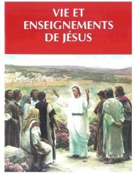 vie et enseignements de jésus - Seminaries & Institutes of Religion