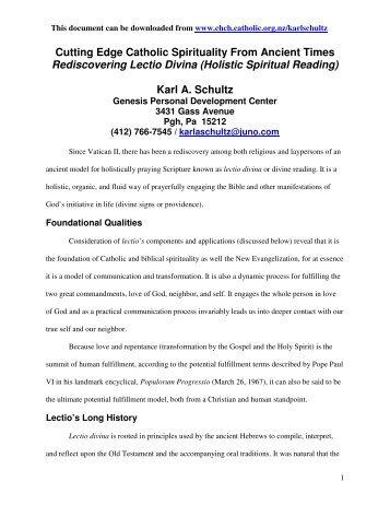 Rediscovering Lectio Divina - Full Length.pdf