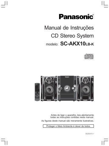 SC-AKX10LB-K.pdf - Panasonic