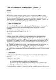 Microsoft Word-Satzu.. - Rudolf Steiner Schule Lüneburg