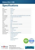 Ultra Series (X30U) - Globus Infocom - Page 2