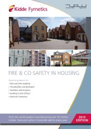 Fire & CO Safety in Housing - Safelincs