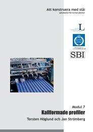 Modul 7_inledning1.pdf - Stålbyggnadsinstitutet