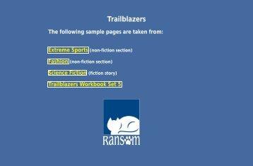 Trailblazers - Ransom Publishing