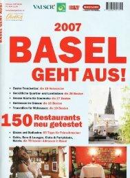 Basel geht aus - Kartoffelhaus