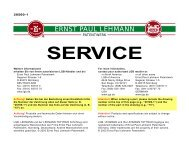 20560-1 Service - Van Elten