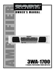 3WA-1700 - Nady
