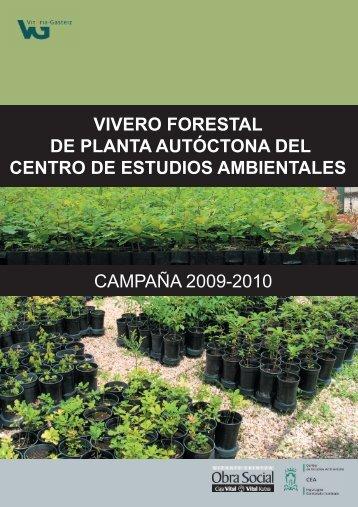 vivero forestal de planta autóctona del centro de estudios ...
