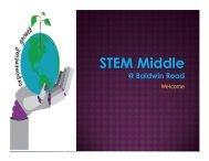 Stem Middle at Baldwin Welcome - Reynoldsburg City Schools