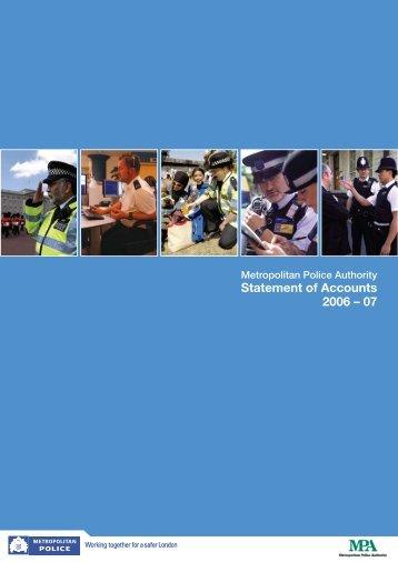Statement of accounts 2006-07