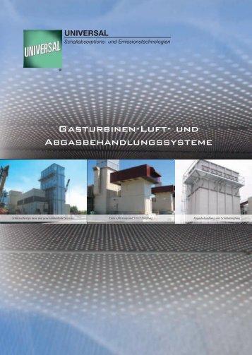 Gasturbinen-Luft- und Abgasbehandlungssysteme - Universal ...