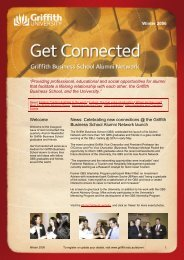 Get Connected newsletter - Winter 2006 - Griffith University