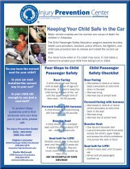 Keeping Your Child Safe in the Car - Arkansas Children's Hospital