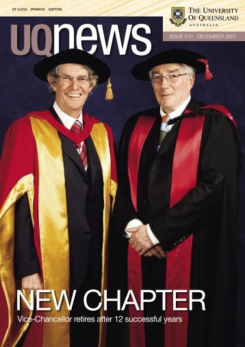 Issue 570 (December 2007) - Office of Marketing and Communications