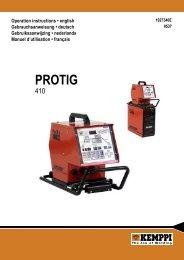 Protig 410 0537 - ARC-H Welding sro