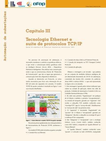 Capítulo III Tecnologia Ethernet e suíte de protocolos TCP/IP