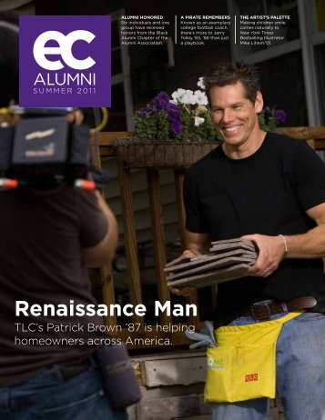 renaissance man - East Carolina Alumni Association