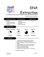 DNA Extraction - OMSI