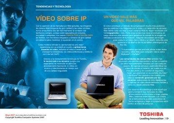 VÍDEO SOBRE IP - Toshiba