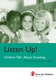 Children Talk: About Smacking - Global Initiative to End All Corporal ...