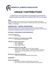 to view the unique contributions from our association - Mount Sinai ...