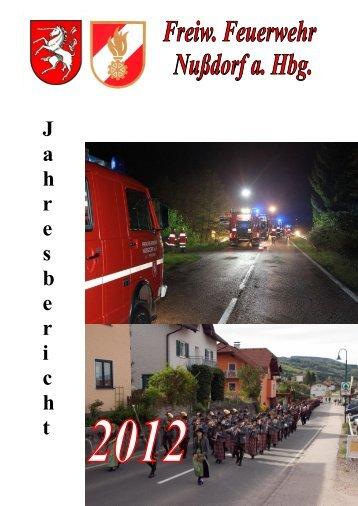 Tätigkeitsbericht 2012 [PDF 6,79 MB] - Freiwillige Feuerwehr ...