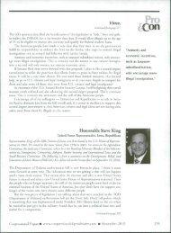 Viuery Honorable Steve King - Junipero Serra High School