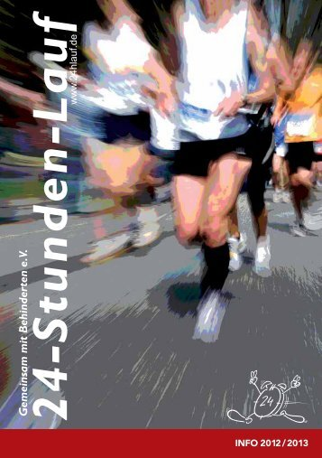 Infoheft 2012 - Gemeinsam mit Behinderten