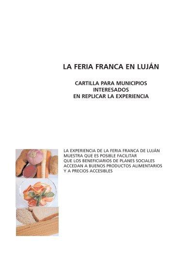 LA FERIA FRANCA EN LUJÁN