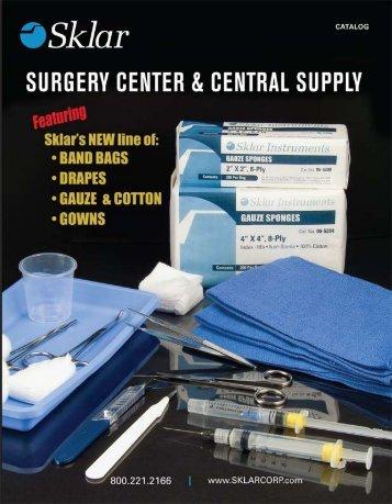 Surgery Center - Sklar Surgical Instruments