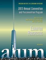 View the Exhibitor Prospectus - AIUM