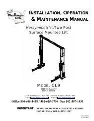 MAINTENANCE MANUAL - NY Tech Supply
