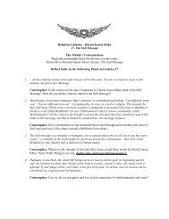 Companion Study Guide - International Sufi Movement USA