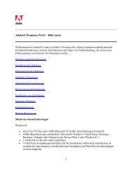 Adobe® Premiere Pro® – Bitte lesen - Language Center Γριβάκη
