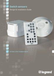 Switch sensors - legrand