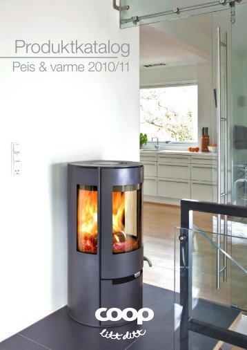 Produktkatalog Peis og varme 2010-11 - Coop