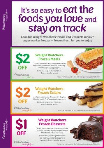 2 $2 $1 - Weight Watchers
