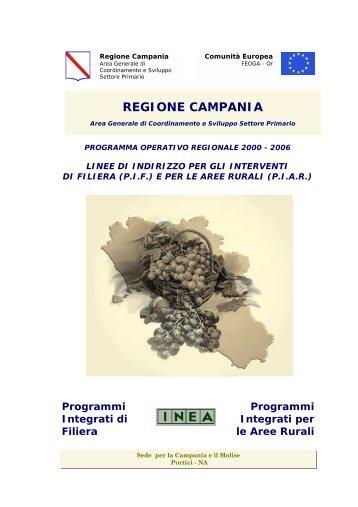 REGIONE CAMPANIA - Inea