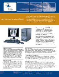 PACS Pro Basic Archive Software - MedicExchange