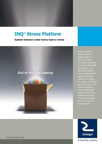 INQ® Stress Platform - Integri